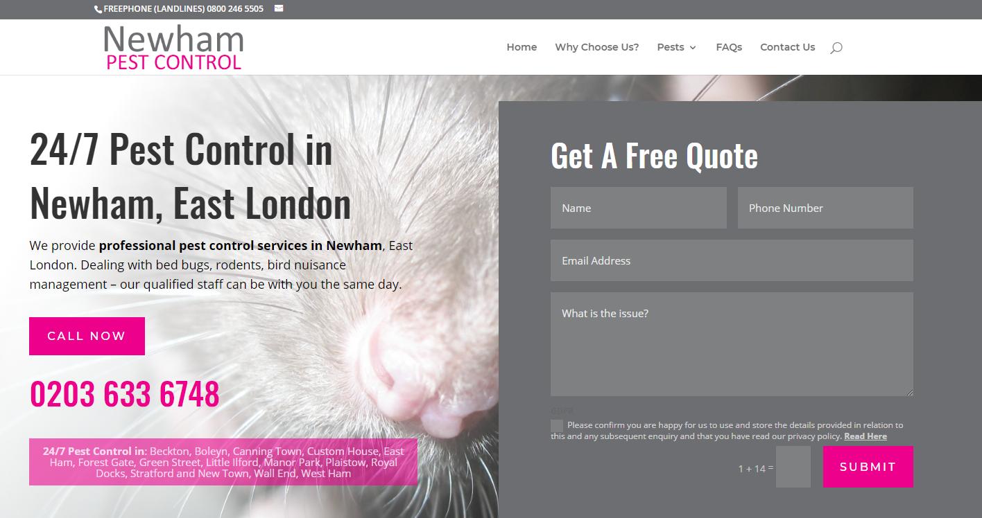 Newham Pest Control