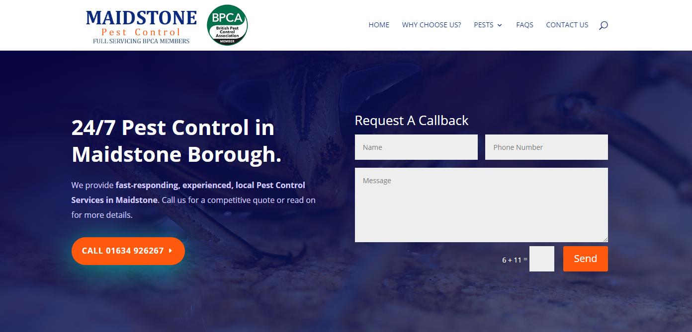 Maidstone Pest Control on Borough