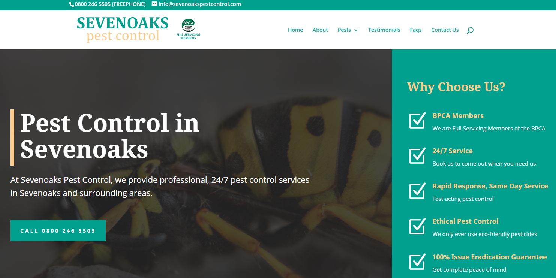 Sevenoaks Pest Control home